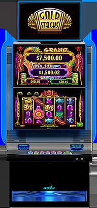 stacks of gold slot machine
